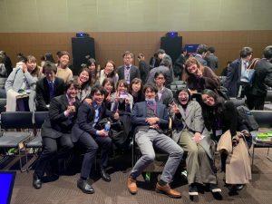 参加した東海大ハートチームのメンバー